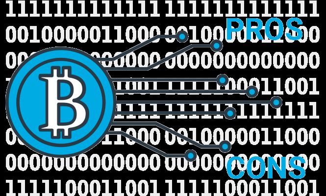Ventajas e inconvenientes de Bitcoin